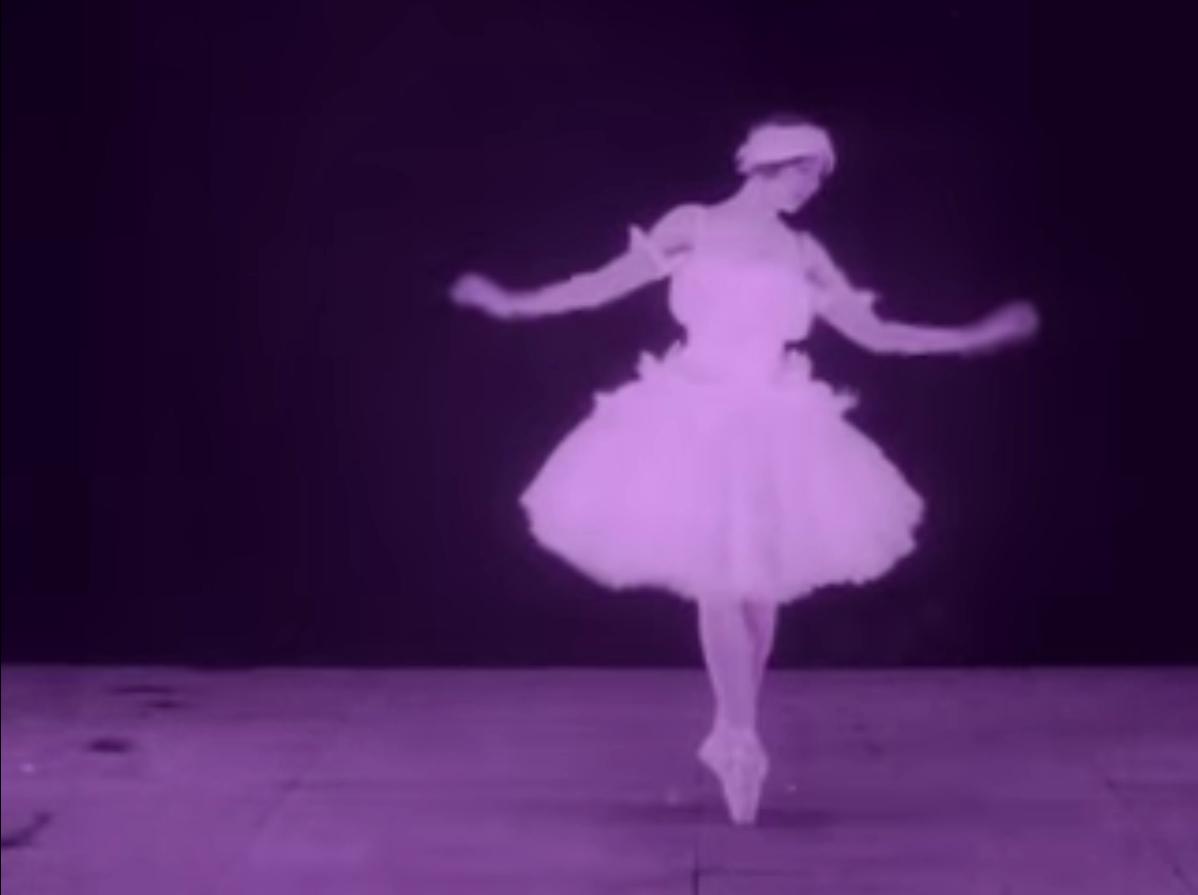 Vera Karalli in Evgenij Bauer's The Dying Swan (1917)